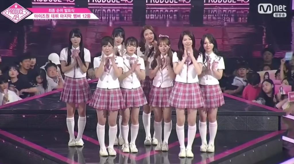 PRODUCE48脱落メンバー